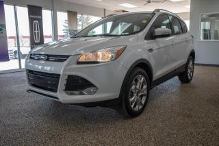 Used 2016 Ford Escape Titanium 4WD w/ 2.0L Ecoboost, Navigation and Leather Heated Seats for sale in Okotoks, AB