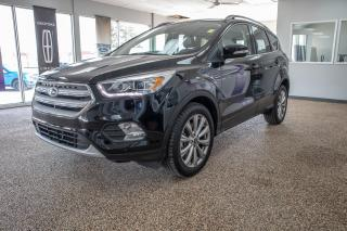 Used 2018 Ford Escape Titanium 4WD w/ 2.0L Ecoboost, Navigation, Moonroof, Leather and Trailer Tow Package for sale in Okotoks, AB