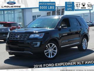 Used 2016 Ford Explorer Xlt Awd Cuir Toit for sale in Victoriaville, QC