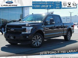 Used 2018 Ford F-150 Lariat Sport Cuir for sale in Victoriaville, QC