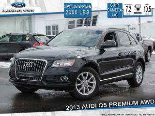 Used 2013 Audi Q5 2.0t Cuir Bluetooth for sale in Victoriaville, QC