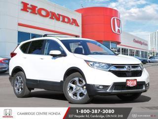 Used 2019 Honda CR-V EX APPLE CARPLAY™ & ANDROID AUTO™ | POWER SUNROOF | HONDA SENSING TECHNOLOGIES for sale in Cambridge, ON