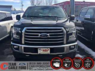 Used 2017 Ford F-150 Ford F-150 XLT S/CREW 2017, GPS, BLUETOO for sale in Gatineau, QC