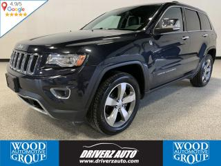 Used 2014 Jeep Grand Cherokee Limited LIMITED TRIM, CLEAN CARFAX, ONE OWNER for sale in Calgary, AB