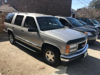 Used 1999 GMC Yukon SLE for sale in Mississauga, ON
