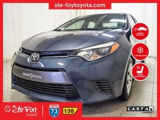 Used 2016 Toyota Corolla LE SIEGES CH for sale in Québec, QC