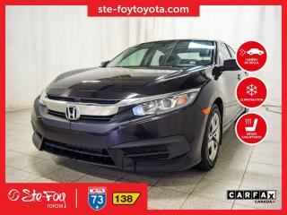 Used 2016 Honda Civic LX SIÈGES CH for sale in Québec, QC
