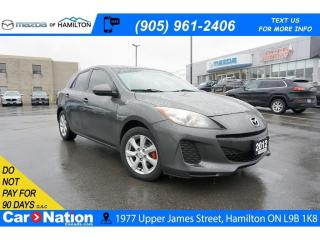 Used 2012 Mazda MAZDA3 GX | A/C | 5 SPEED | ALLOYS for sale in Hamilton, ON