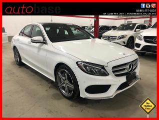 Used 2016 Mercedes-Benz C-Class C300 4MATIC PREMIUM PLUS BURMESTER SPORT LED 360 for sale in Vaughan, ON