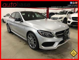 Used 2016 Mercedes-Benz C-Class C450 AMG 4MATIC HEAD UP DISPLAY INTELLIGENT DRIVE for sale in Vaughan, ON