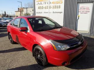Used 2010 Ford Focus ***SES,MAGS,BLUETOOTH,AIR CLIM*** for sale in Longueuil, QC