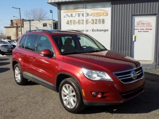 Used 2009 Volkswagen Tiguan ***TRENDLINE,4X4,TOIT PANO*** for sale in Longueuil, QC