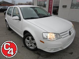 Used 2010 Volkswagen City Golf Gar. A/c for sale in St-Jérôme, QC