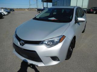 Used 2015 Toyota Corolla Le,a/c,cruise,blueto for sale in Mirabel, QC