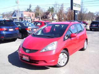 Used 2011 Honda Fit LX,Sport,Auto,A/C,Certified,Ontario car,gas saver for sale in Kitchener, ON