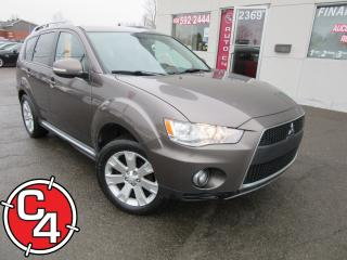 Used 2010 Mitsubishi Outlander Xls/gt 7pass V6 Awd for sale in St-Jérôme, QC