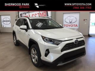 New 2019 Toyota RAV4 Hybrid Limited for sale in Sherwood Park, AB