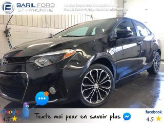 Used 2014 Toyota Corolla S for sale in St-Hyacinthe, QC
