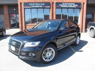 Used 2014 Audi Q5 2.0L KOMFORT/ $15,995+HST+LIC CLEAN CARFAX REPORT for sale in North York, ON