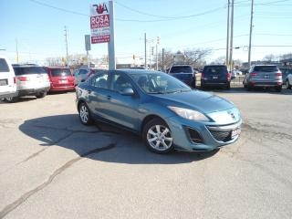 Used 2011 Mazda MAZDA3 AUTO BLUE TOOTH  REMOTE START PW PM PL A/C SAFETY for sale in Oakville, ON