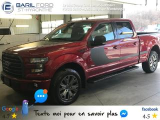 Used 2016 Ford F-150 AWD SUPERCREW for sale in St-Hyacinthe, QC