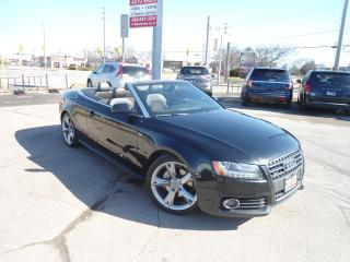 Used 2012 Audi A5 2dr Cabriolet Auto 2.0L Premium Plus NAV BLUETOOTH for sale in Oakville, ON