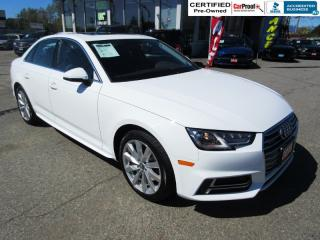 Used 2018 Audi A4 KOMFORT 2.OT QUATTRO for sale in Surrey, BC