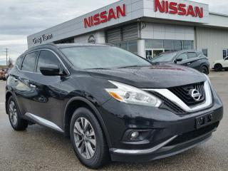 Used 2016 Nissan Murano SV AWD w/NAV,panoramic roof,heated seats,rear cam, for sale in Cambridge, ON