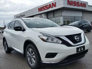 Used 2015 Nissan Murano FWD w/NAV,rear cam,heated seats,climate control for sale in Cambridge, ON