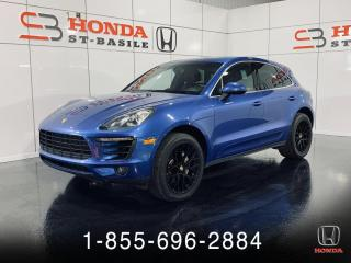 Used 2016 Porsche Macan S + TOIT PANO + CUIR + UN PROPRIÉTAIRE + for sale in St-Basile-le-Grand, QC