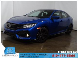 Used 2017 Honda Civic  SPORT MAG TOITOUV GARANTIE BAS KILO!! for sale in Drummondville, QC