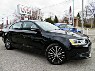 Used 2014 Volkswagen Jetta Highline 1,8 TSI -- CUIR - TOIT - GPS -- for sale in Repentigny, QC
