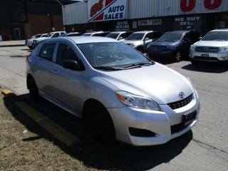 Used 2009 Toyota Matrix ~POWER OPTIONS~AUTOMATIC~CERTIFIED for sale in Toronto, ON