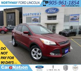 Used 2014 Ford Escape SE | PWR HTD SEATS | BACKUP CAM | TOUCHSCREEN | for sale in Brantford, ON
