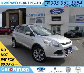 Used 2015 Ford Escape Titanium | PWR HTD LTHR + LIFTGATE | PUSH START | for sale in Brantford, ON