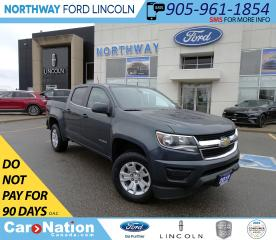 Used 2019 Chevrolet Colorado LT 4X4| PWR SEATS | BACK UP CAM | CREW CAB | WIFI for sale in Brantford, ON
