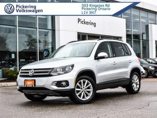 Used 2017 Volkswagen Tiguan TIGUAN AWD - WOLFSBURG!! for sale in Pickering, ON
