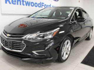 Used 2018 Chevrolet Cruze Premier FWD with heated leather seats and a back up cam for sale in Edmonton, AB