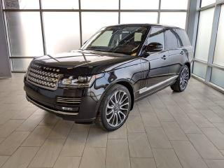 Used 2016 Land Rover Range Rover Autobiography for sale in Edmonton, AB