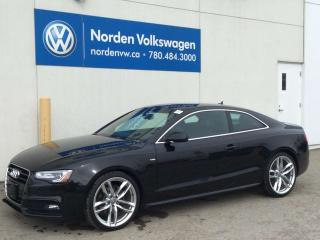 Used 2015 Audi A5 Technik - S LINE- Quattro for sale in Edmonton, AB
