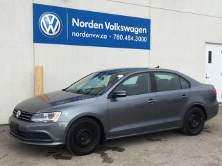 Used 2015 Volkswagen Jetta Sedan 1.8 TURBO TRENDLINE+ / HEATED SEATS + CERTIFIED for sale in Edmonton, AB