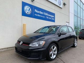 Used 2015 Volkswagen Golf GTI LOW KMS! AUTOMATIC - CLARK CLOTH - DSG for sale in Edmonton, AB