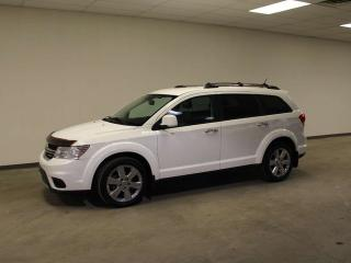 Used 2012 Dodge Journey R/T; V6, ACCIDENT FREE, AWD, CAR STARTER, LEATHER, SMART KEY ALPINE PREMIUM AUDIO for sale in Edmonton, AB