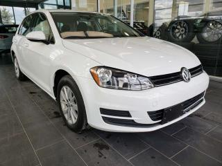 Used 2016 Volkswagen Golf TRENDLINE, HEATED SEATS, REAR VIEW CAMERA, ACCIDENT FREE for sale in Edmonton, AB