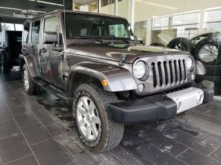 Used 2014 Jeep Wrangler Unlimited SAHARA, NAVI, BLUETOOTH for sale in Edmonton, AB