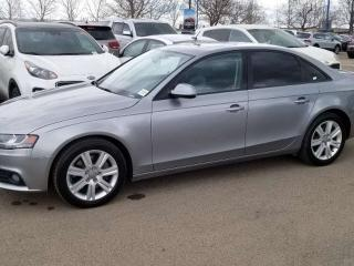 Used 2011 Audi A4 PREM; BLUETOOTH, HEATED SEATS, LEATHER, SUNROOF AND MORE for sale in Edmonton, AB