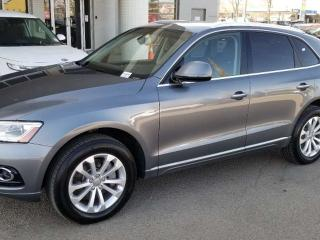Used 2015 Audi Q5 TECHNIK; LOADED, NAV, BLUETOOTH, BACKUP CAM, SUNROOF AND MORE for sale in Edmonton, AB