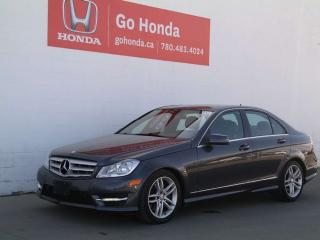 Used 2013 Mercedes-Benz C-Class C300, 4MATIC for sale in Edmonton, AB