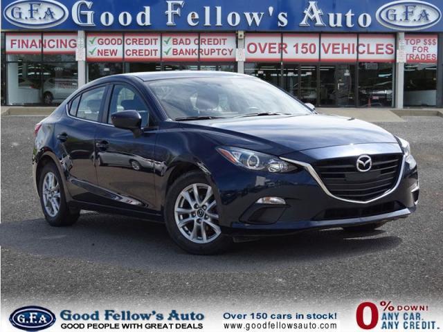 2015 Mazda MAZDA3 GS MODEL, SKYACTIVE, REARVIEW CAMERA, HEATED SEATS