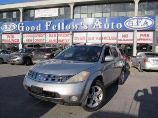 Used 2003 Nissan Murano SUNROOF, LEATHER SEATS, AWD, HEATED SEATS for sale in Toronto, ON